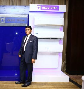 Blue Star launches Indias first inverter split AC which cools in decimals