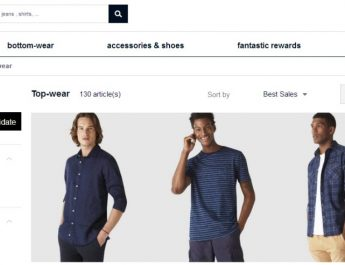 Celio - India - Website