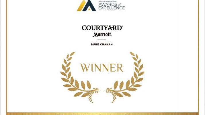 Debbie Marriott Harrison Take Care Award of Excellence - Courtyard by Marriott Pune Chakan