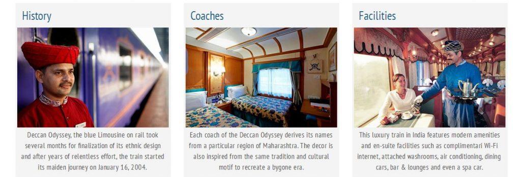 Deccan Odyssey - Facilities