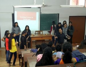 Delhi School Of Communication - Students participating in the Brand Games Enthusiastic participation by the teams 2