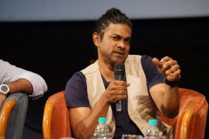 Director Padamkumar at Whistling Woods International