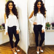 Spotted: Disha Patani in WOODS Shoes