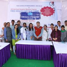 Fore Organized Health Camp for Villagers at Manesar, Haryana