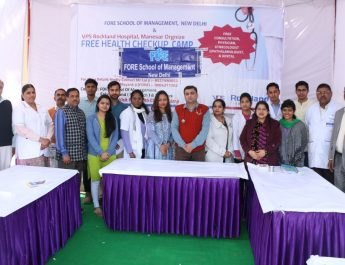 Fore Organized Health Camp for Villagers at Manesar