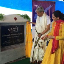 Groundbreaking Ceremony of VSoft Technologies Mangalagiri Software Development Centre