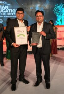 Harshad Sangle and Amit Agrawal - Times and Trends Academy - Vocational Education Programme of The Year