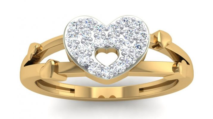 Heart shaped Ring by SRS Jewells