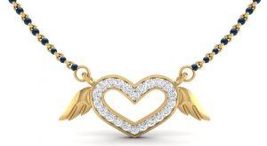Heart shaped pendant neckpiece by SRS Jewells