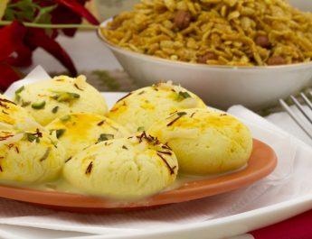 Holi Special with Foodhall - Thandai Rasmalai