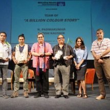 'A Billion Colour Story' received standing ovation by 400 students of Whistling Woods International
