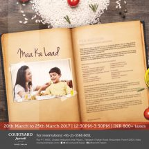 Maa ka Laad food festival at Courtyard by Marriott, Pune Chakan
