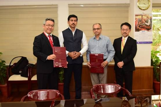 MoU signed between FTII and Canon to promote short courses in Film and Television 1