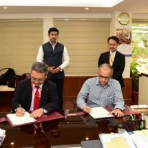 MoU signed between FTII and Canon to promote short courses in Film and Television