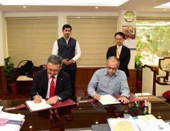 MoU signed between FTII and Canon to promote short courses in Film and Television 2