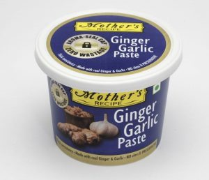 Mothers Recipe - cooking paste - Ginger Garlic Tub pack