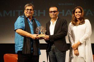 National Award winner Amitabh Bhattacharya at Whistling Woods International 2