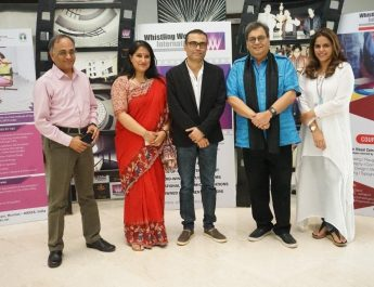 National Award winner Amitabh Bhattacharya at Whistling Woods International
