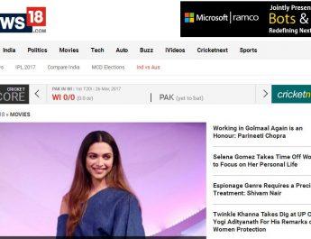 News18.com - Website - Homepage