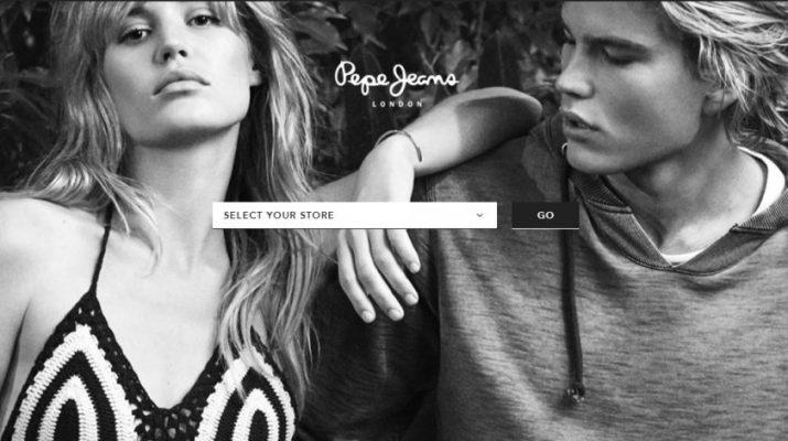 PEPE JEANS London - Website - Homepage