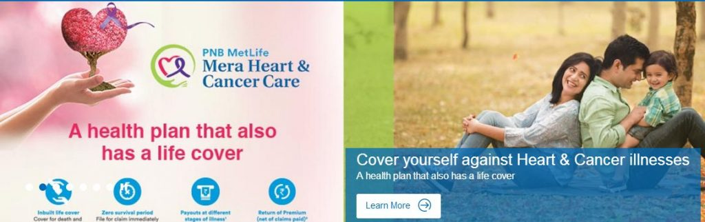 PNB Metlife - Mera Heart and Cancer Care