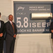 Godrej Appliances launches nation's most power saving green inverter air conditioner with 5.8 ISEER