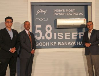 Prasoon Kumar - Anup Bhargava - Kamal Nandi - Godrej Appliances - green inverter air conditioner