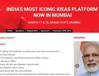 Prime Minister Narendra Modi to address India Today Conclave