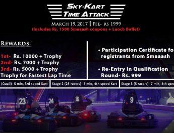 SKY KARTING GO KART TOURNAMENT- 19 MARCH - GO-KARTING TIME