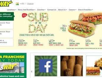 SUBWAY® - Home Page - Website