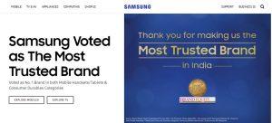 Samsung - Home Page - Website