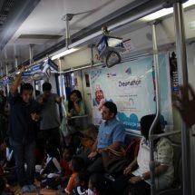 SapnoKaDibba in the Rapid Metro
