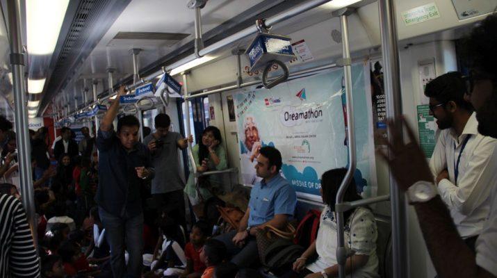 Sapno Ka Dibba in the Rapid Metro - Gurgaon 2
