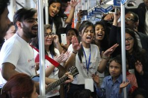 Sapno Ka Dibba in the Rapid Metro - Gurgaon 3