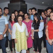 National Award Winner Saroj Khan at Whistling Woods International