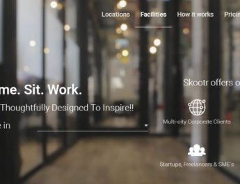 Skootr - Home Page - Website - Co-location Spaces
