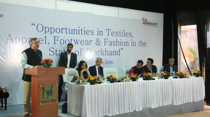 Seminar on Opportunities in the Textiles - Apparel - Footwear and Fashion in Jharkhand