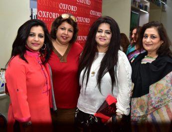 Shazia ilmi - Dr Ekta Chadha - Nelofar Currimbhoy at Oxford Book Store
