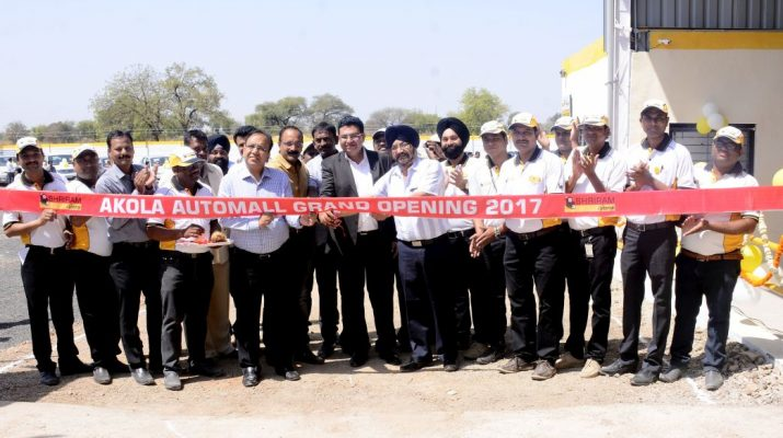 Shriram Automall Akola Inauguration - 67th facility - Ribbon Cutting