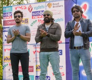 Sri Harsha Foundation - Stop Speed - Awareness Campaign - Akhil Akkineni - Yash and Sunil