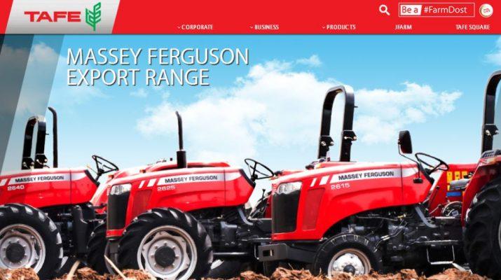 TAFE - FarmDost - Massey Ferguson
