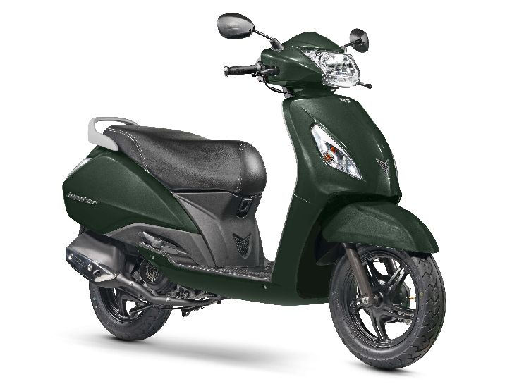 TVS Jupiter - Jade Green