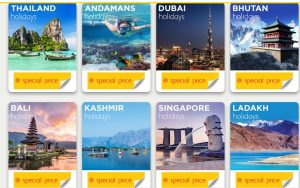 Thomas Cook India - The Great Indian Holiday Sale - Website 2