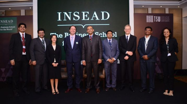 Times Centre for Learning Ltd signs MOU with INSEAD 2