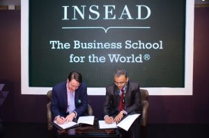 Times Centre for Learning Ltd signs MOU with INSEAD
