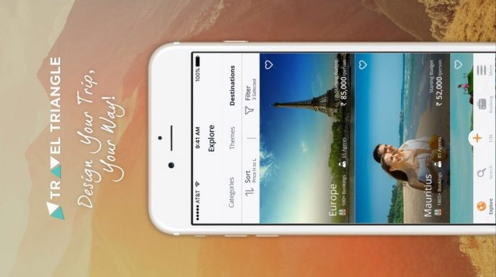 TravelTriangle launches its latest iOS mobile application 1