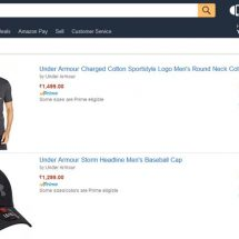 Under Armour Debuts in India on Amazon Fashion