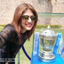 VIVOIPL 2017 Trophy Tour raises cricket fever in Hyderabad
