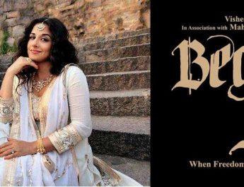 Vidya Balan - Begum Jaan - New Poster 2