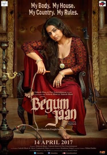 Vidya Balan - Begum Jaan Poster